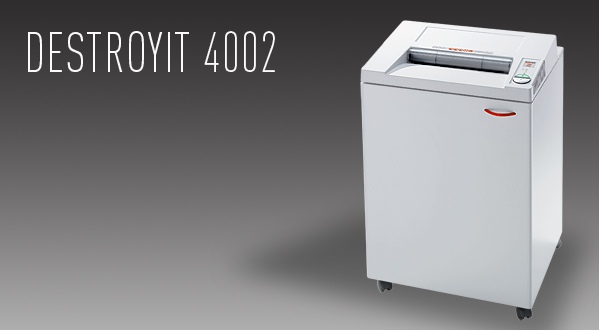 The Mbm Destroyit 4002 Heavy Duty Paper Shredder Is Perfect Option For Centralized Office Shredding It Features A Wide 16 Opening Hardened Steel